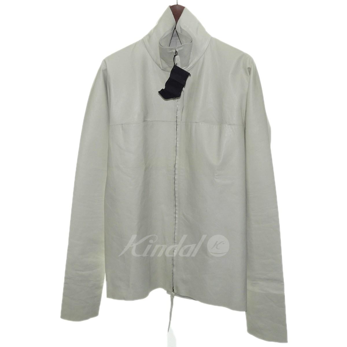 【中古】M.A.クロス 2017SS 「Zipped tall collar shirt」レザージップシャツ 【送料無料】 【124569】 【KIND1550】