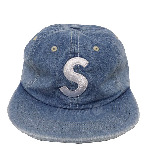 【中古】SUPREME Washed Chambray S Logo 【送料無料】 【152474】 【KIND1550】