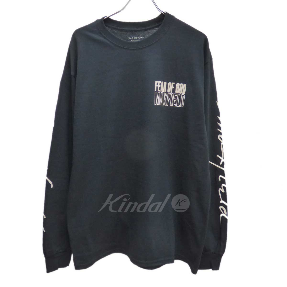 【中古】FEAR OF GOD House of God Staff Tee ×MAXFIELD 長袖シャツ 【送料無料】 【131655】 【KIND1550】