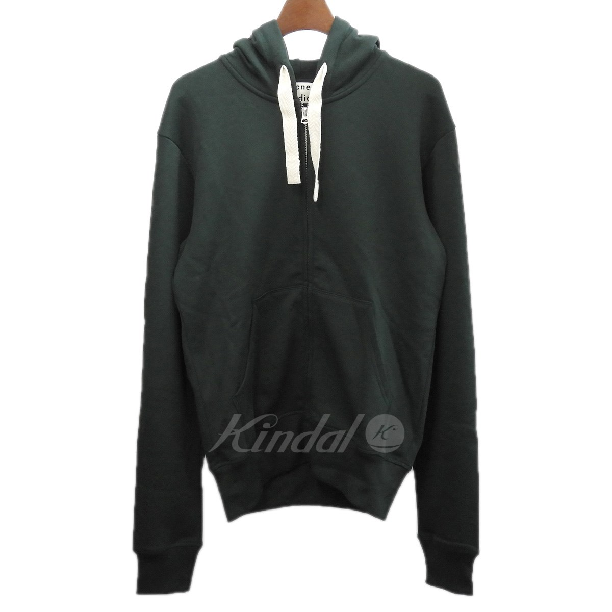 【中古】ACNE STUDIOS 2018AW 「Hooded Sweatshirt」ジップパーカー 【送料無料】 【125023】 【KIND1550】