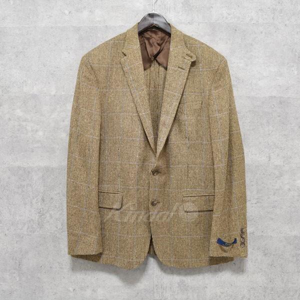 【中古】POLO PALPH LAUREN 2Bテーラードジャケット ブラウン サイズ:42S 【送料無料】 【170918】(ポロラルフローレン)