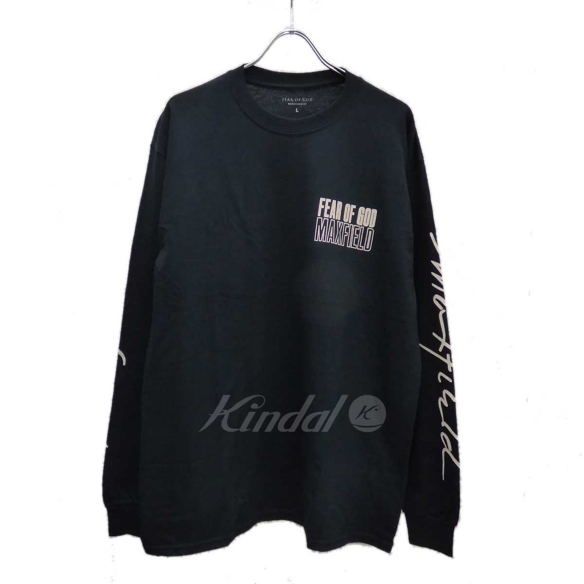 【中古】FOG FEAR OF GOD×MAXFIELD houseofgod staff Tシャツ 【送料無料】 【135547】 【KIND1550】