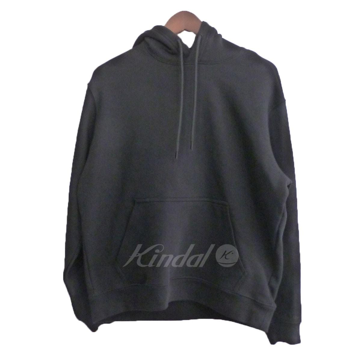 【中古】BALENCIAGA 17SS 「Tuck in Hooded Sweat」プルオーバーパーカー ブラック サイズ:XS 【送料無料】 【190918】(バレンシアガ)