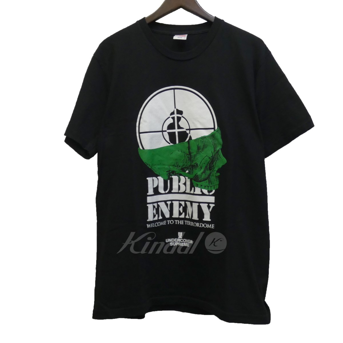 【中古】SUPREME×UNDER COVER 18SS 「Public Enemy Terrordome Tee」パブリックエネミーTシャツ 【送料無料】 【097287】 【KIND1550】