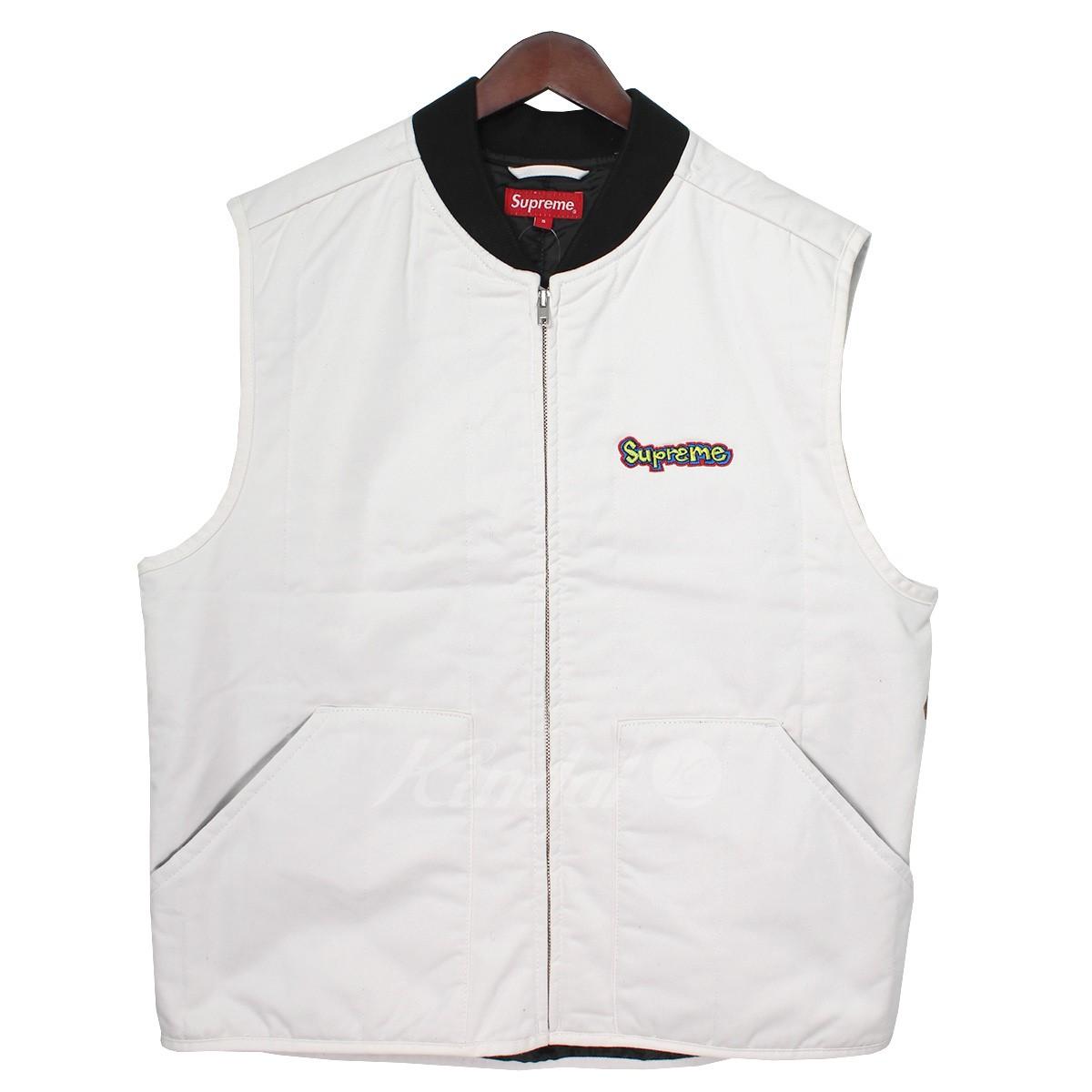 【中古】SUPREME 18AW Gonz Shop Vest ゴンズロゴショップベスト 【送料無料】 【000580】 【KIND1550】