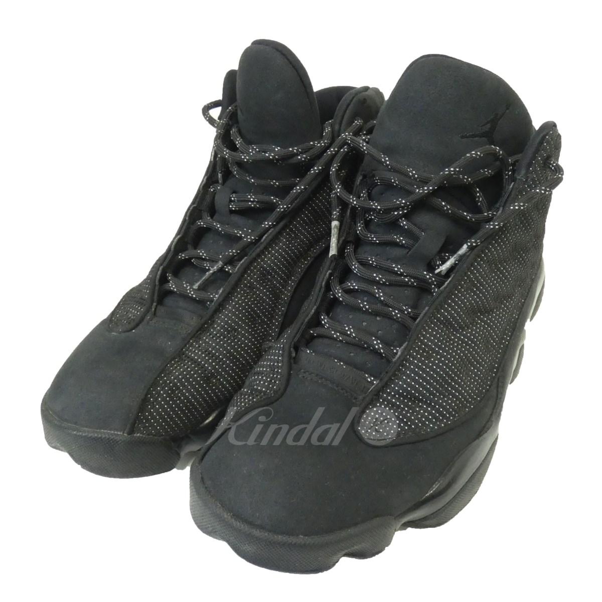 【中古】NIKE 「AIR JORDAN 13 RETRO BLACK CAT」414571-011 スニーカー ブラック サイズ:27.5cm 【送料無料】 【210918】(ナイキ)