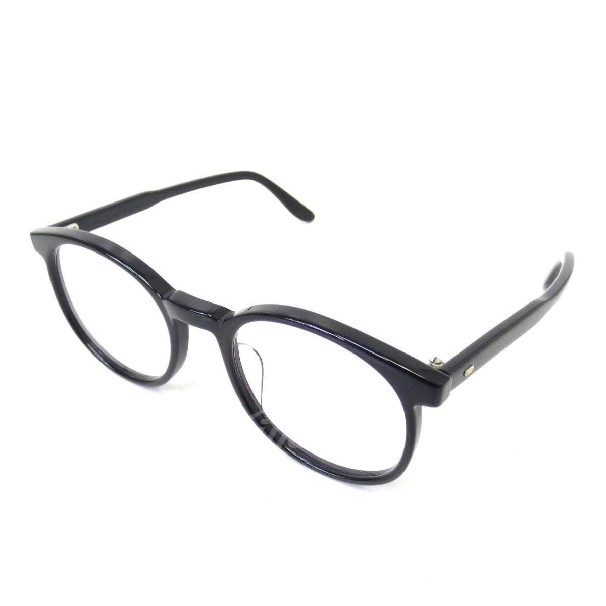 【中古】JULIUS TART OPTICAL 「Prince-X PL-015A」眼鏡 ブラック サイズ:- 【送料無料】 【210918】(ユリウス タート オプティカル)