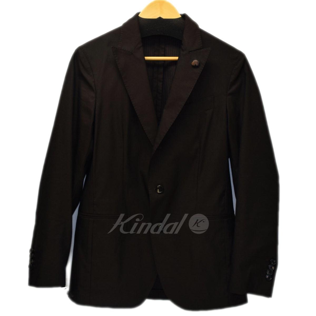 【中古】GABRIELE PASINI 3ピース セットアップスーツ ブラウン サイズ:44/44/44 【送料無料】 【210918】(ガブリエレパジーニ)