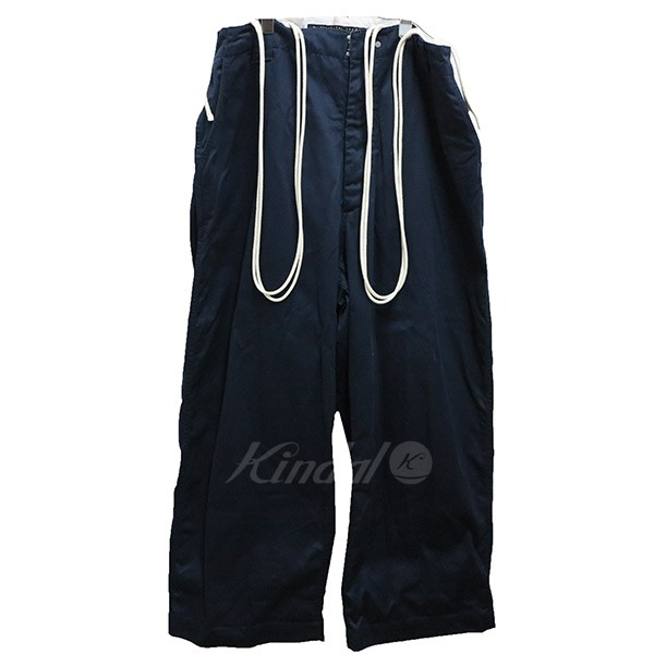 【中古】my beautiful landlet double cloth cotton work pants 【送料無料】 【000337】 【KIND1550】