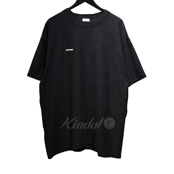 【中古】VETEMENTS 18AW Oversized Inside-Out T-Shirt オーバーサイズ Tシャツ ブラック サイズ:S 【送料無料】 【210918】(ヴェトモン)