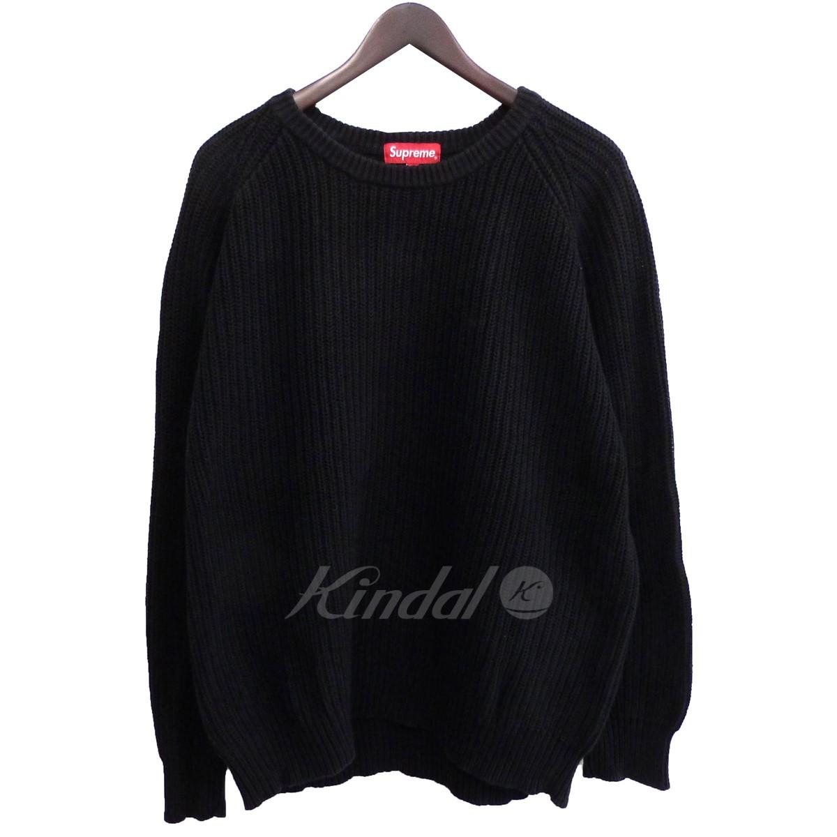 【中古】SUPREME '14AW 「Rib Crewneck Sweater」リブクルーネックニットセーター 【送料無料】 【064040】 【KIND1500】