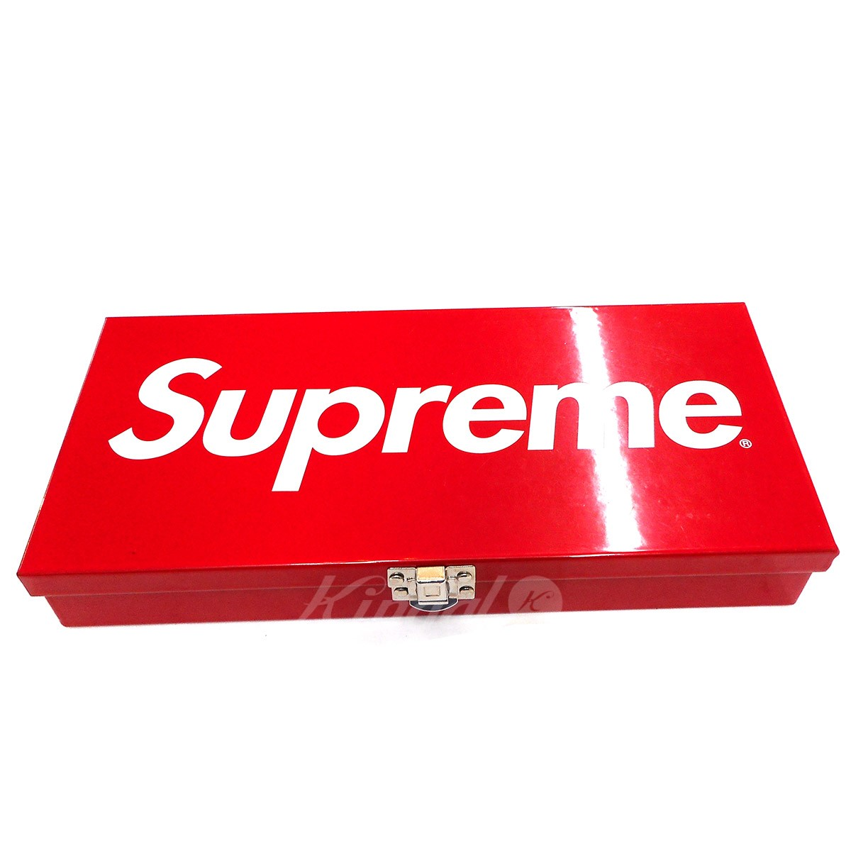 【中古】SUPREME 17SS Metal Storage Box 【送料無料】 【000453】 【KIND1550】