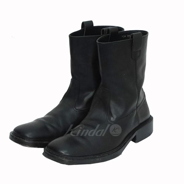 【中古】GUCCI レザー ブーツ 【送料無料】 【000816】 【KIND1550】