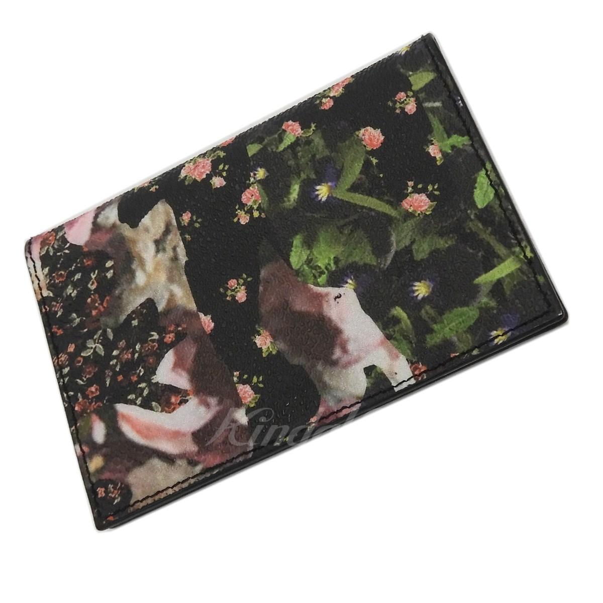 【中古】GIVENCHY 花柄カードケース 【送料無料】 【127492】 【KIND1550】