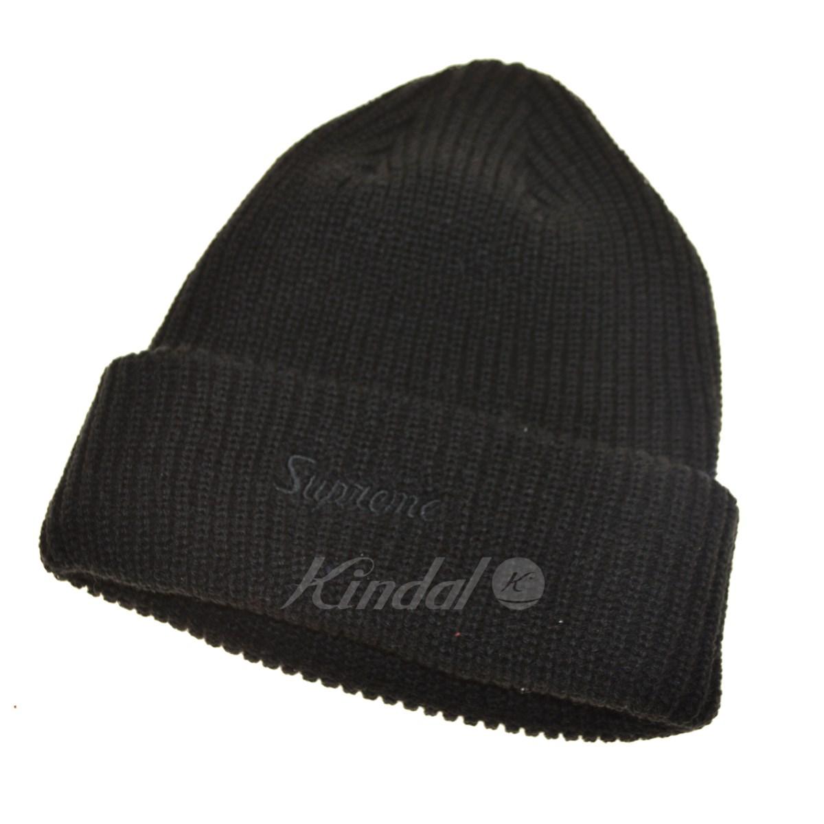 834abfd6a71 ... uk supreme loose gauge beanie knit cap black size c85b6 e7094