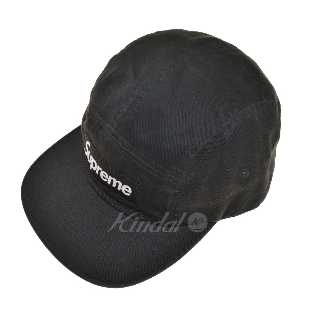 【中古】SUPREME 18AW Washed Chino Twill Camp Cap ボックスロゴキャップ 【送料無料】 【105309】 【KIND1550】