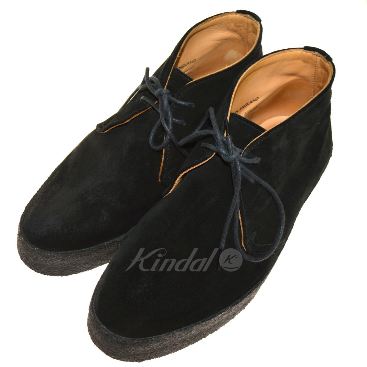 【中古】Sanders 6480BS CHUKKA BOOT チャッカブーツ ブラック サイズ:7 【送料無料】 【240918】(サンダース)