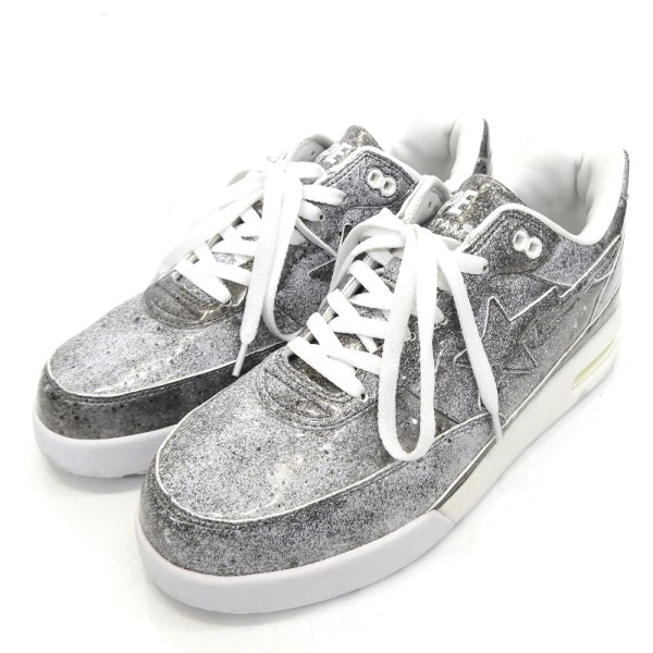 【中古】A BATHING APE × STAMPD 「Roadsta」スニーカー 【送料無料】 【050257】 【KIND1641】