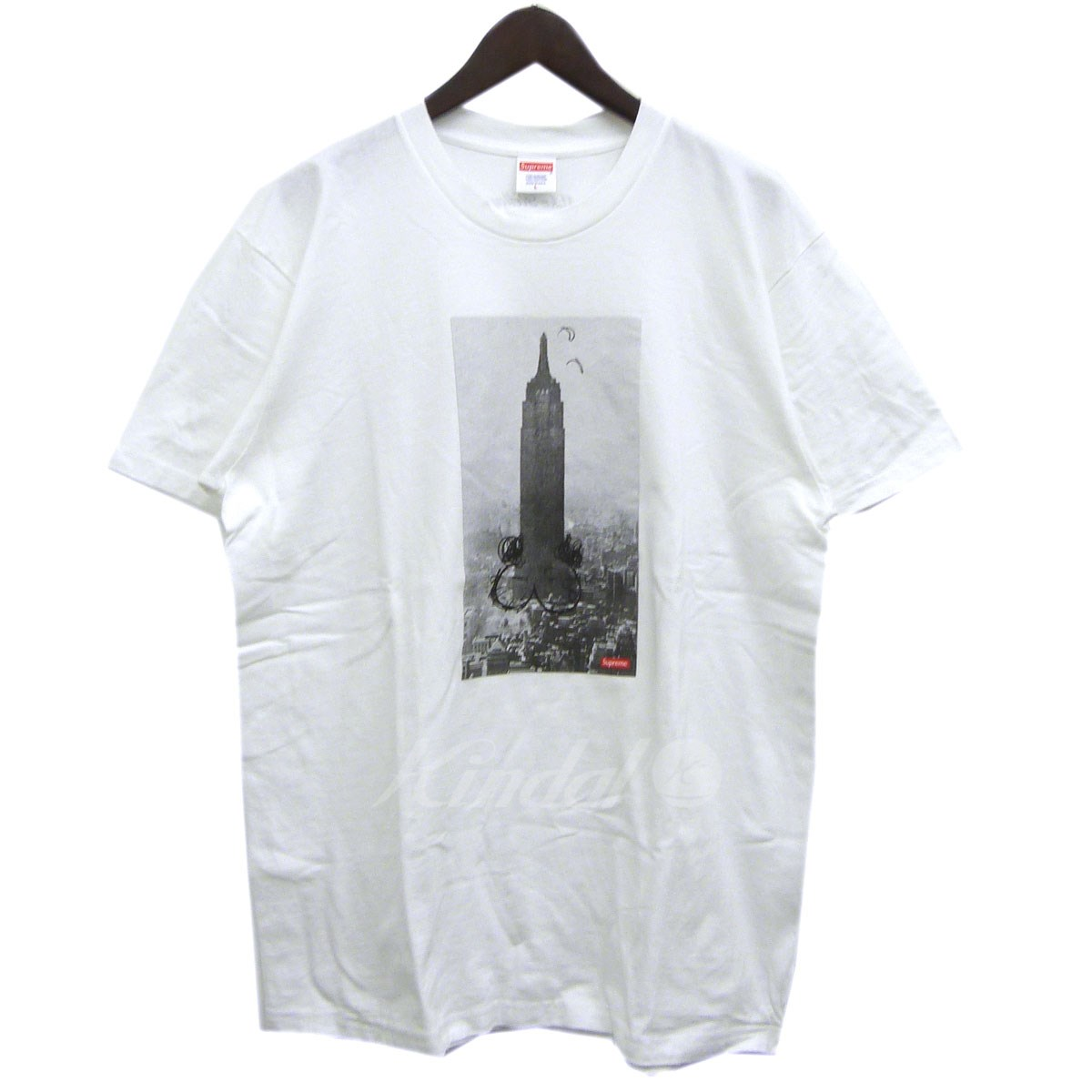 【中古】SUPREME×Mike Kelley 18AW「The Empire State Builing Tee」エンパイアステートビルTシャツ 【送料無料】 【118338】 【KIND1550】