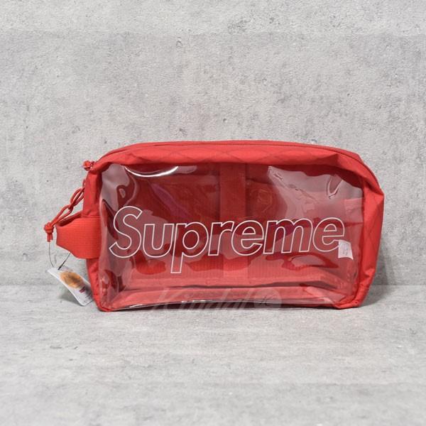 【中古】SUPREME 18AW Utility Bag ユーティリティーバッグ ポーチ レッド 【送料無料】 【260918】(シュプリーム)