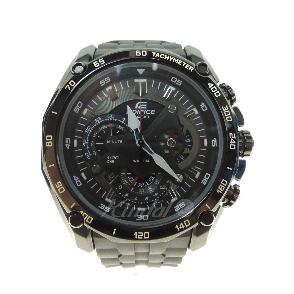 【中古】CASIO EDIFICE 腕時計 EF-550 海外モデル ブラック サイズ:- 【送料無料】 【270918】(カシオ)