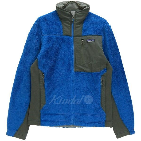 【中古】patagonia R3ハイロフトジャケット フリースジャケット 25700 ブルー グレー サイズ:S 【送料無料】 【270918】(パタゴニア)