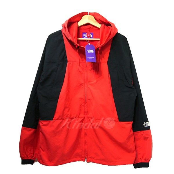 5914a1bb9 THE NORTH FACE PURPLE LABEL 2018AW Mountain Wind Parka mountain parka  NP2805N red X black size: large