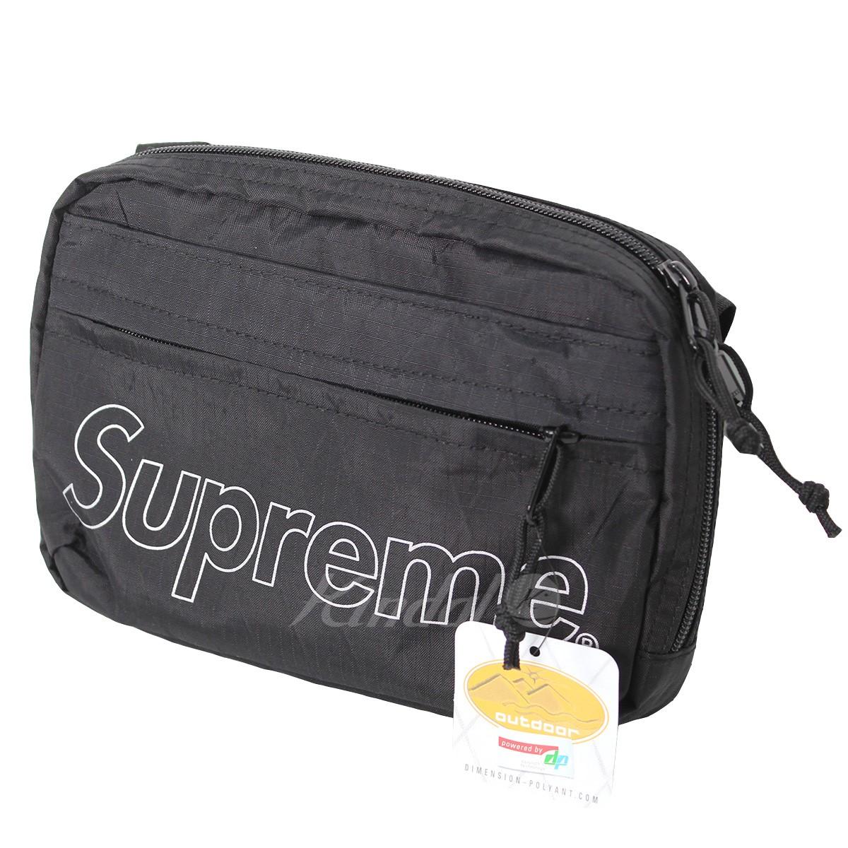 【中古】SUPREME 18AW Shoulder Bag ショルダーバッグ ブラック サイズ:- 【送料無料】 【260918】(シュプリーム)