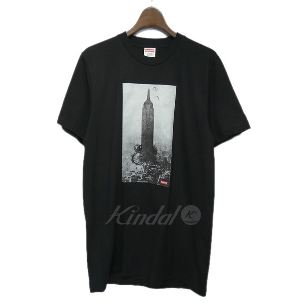 【中古】SUPREME×Mike Kelly 2018AW「Empire State Tee」プリントTシャツ 【送料無料】 【097836】 【KIND1550】