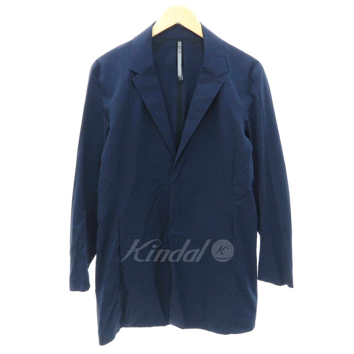 【中古】ARCTERYX VEILANCE Doeln Coat チェスターコート ネイビー サイズ:S 【送料無料】 【300918】(アークテリクス ヴェイランス)