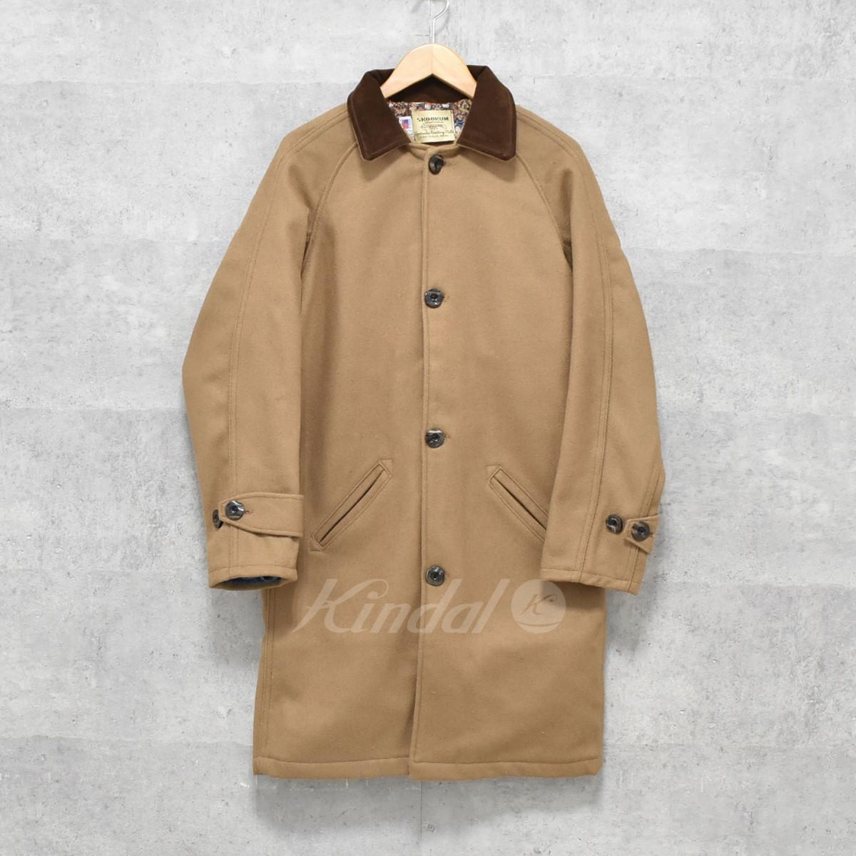 【中古】SKOOKUM ウールジャケット WOOL JACKET ベージュブラウン サイズ:34 【送料無料】 【300918】(スクーカム)