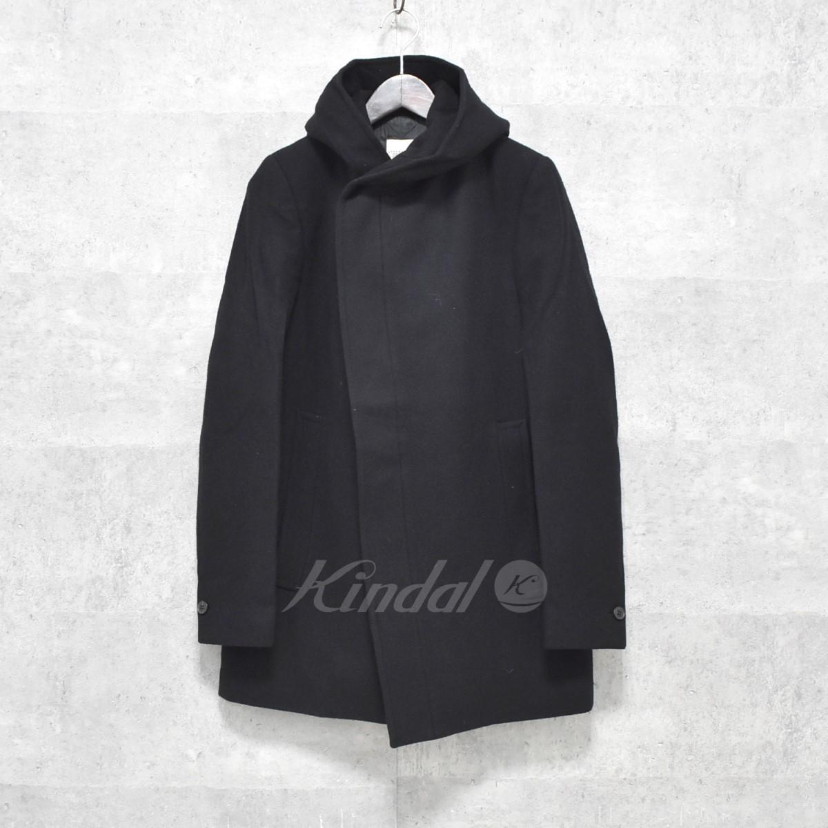 【中古】STEPHAN SCHNEIDER フード付コート ブラック サイズ:3 【送料無料】 【300918】(ステファンシュナイダー)