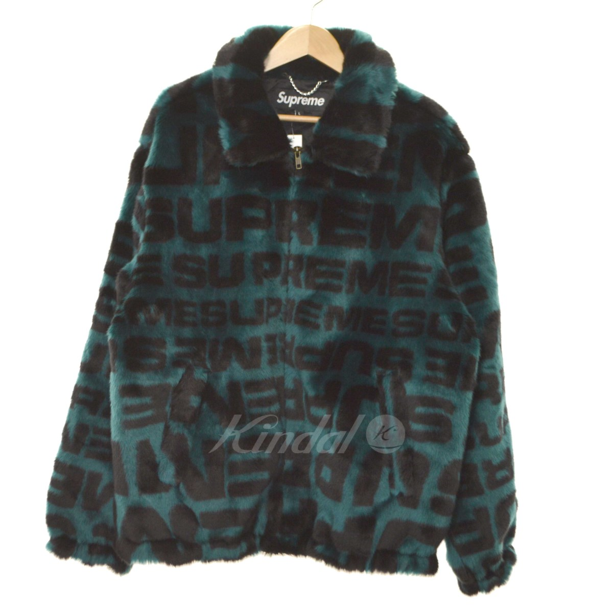 【中古】SUPREME 2018SS Faux Fur Repeater Bomber ファージャケット 【送料無料】 【020992】 【KIND1550】