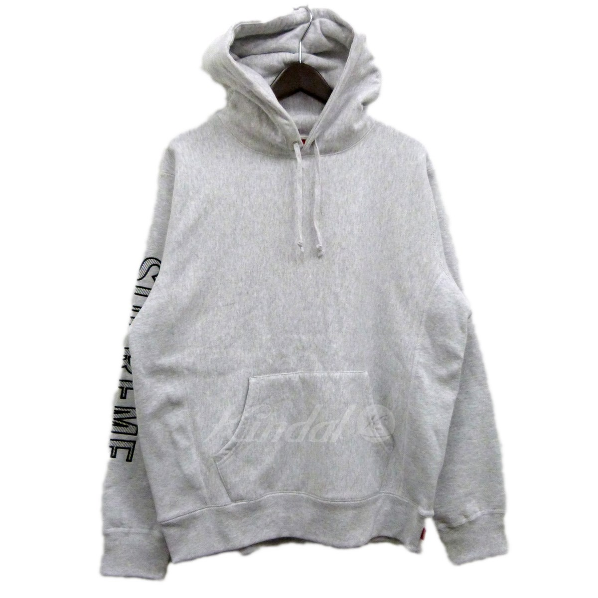 【中古】SUPREME 18SS「Sleeve Embroidery Hooded Sweatshirt」パーカー 【送料無料】 【081335】 【KIND1550】