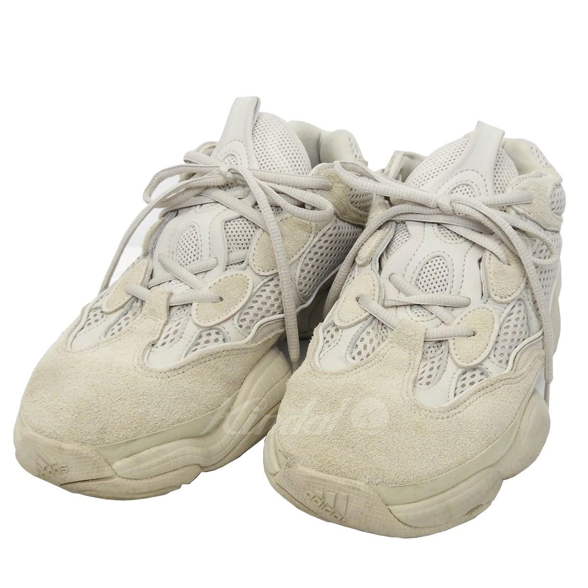 【中古】adidas originals by Kanye West 「YEEZY 500」スニーカー ブラッシュ サイズ:25.5cm 【送料無料】 【051018】(アディダスオリジナルスバイカニエウエスト)