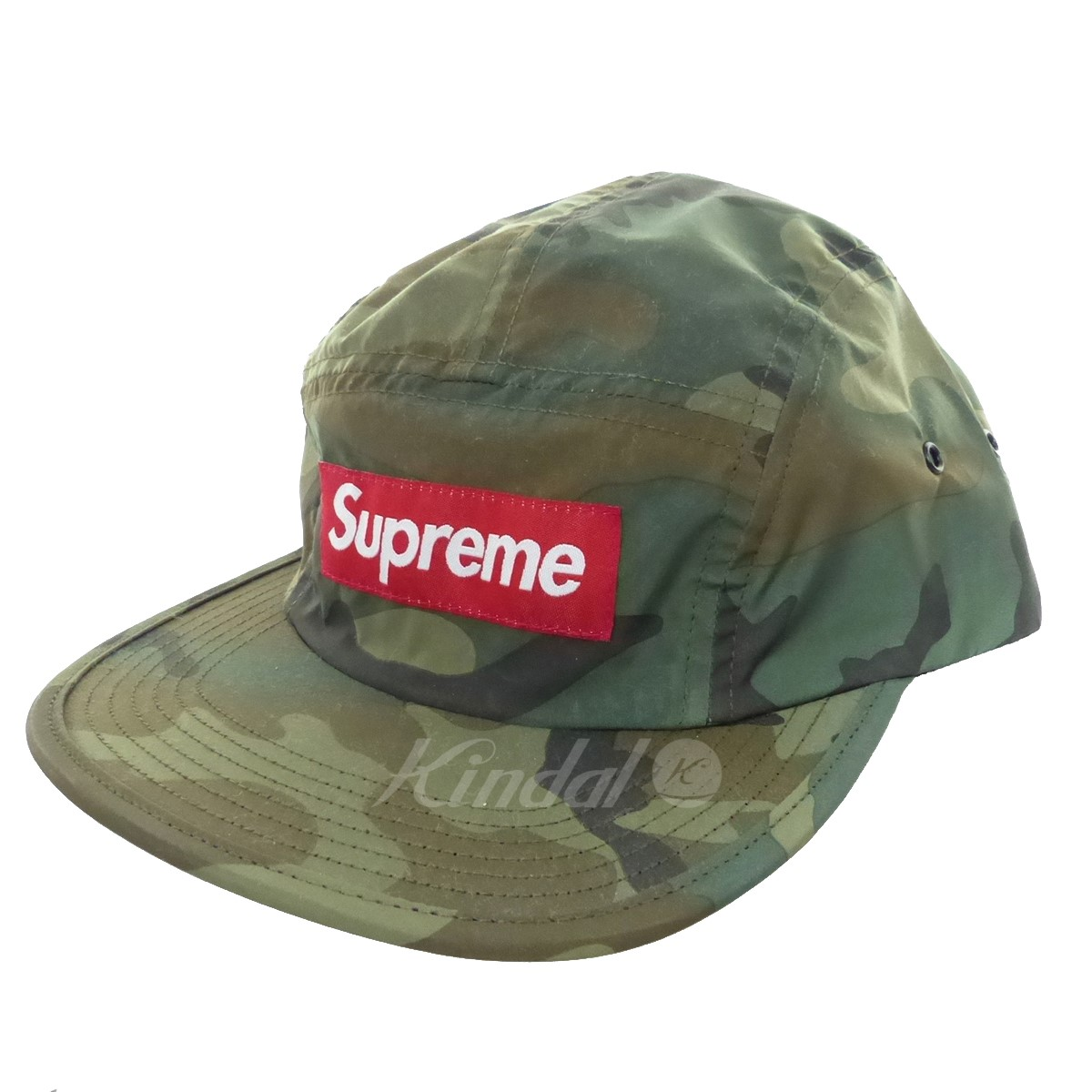 【中古】SUPREME Reflective Camo Camp Cap キャンプキャップ 2018A/W 【送料無料】 【217296】 【KIND1641】