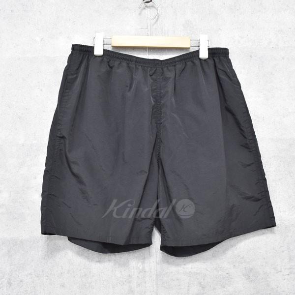 【中古】SUPREME 18SS ARC LOGO WATER SHORT バックロゴデザインナイロンショートパンツ ブラック サイズ:L 【送料無料】 【051018】(シュプリーム)