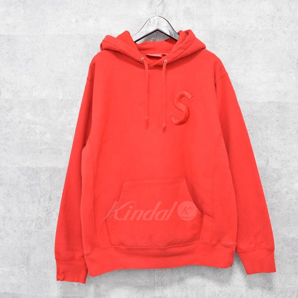 【中古】SUPREME 15AW S logo hooded sweatshirt 【送料無料】 【237805】 【KIND1550】