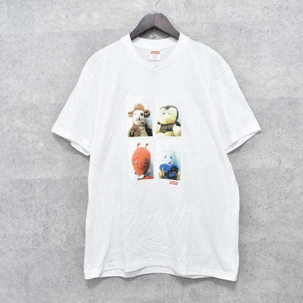 【中古】SUPREME 18AW Ahh...youth!Tee プリントTシャツ ホワイト サイズ:M 【送料無料】 【051018】(シュプリーム)