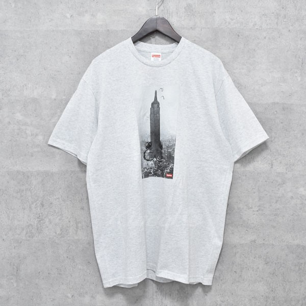 【中古】SUPREME 18AW「The Empire State Building Tee」プリントTシャツ 【送料無料】 【239878】 【KIND1550】