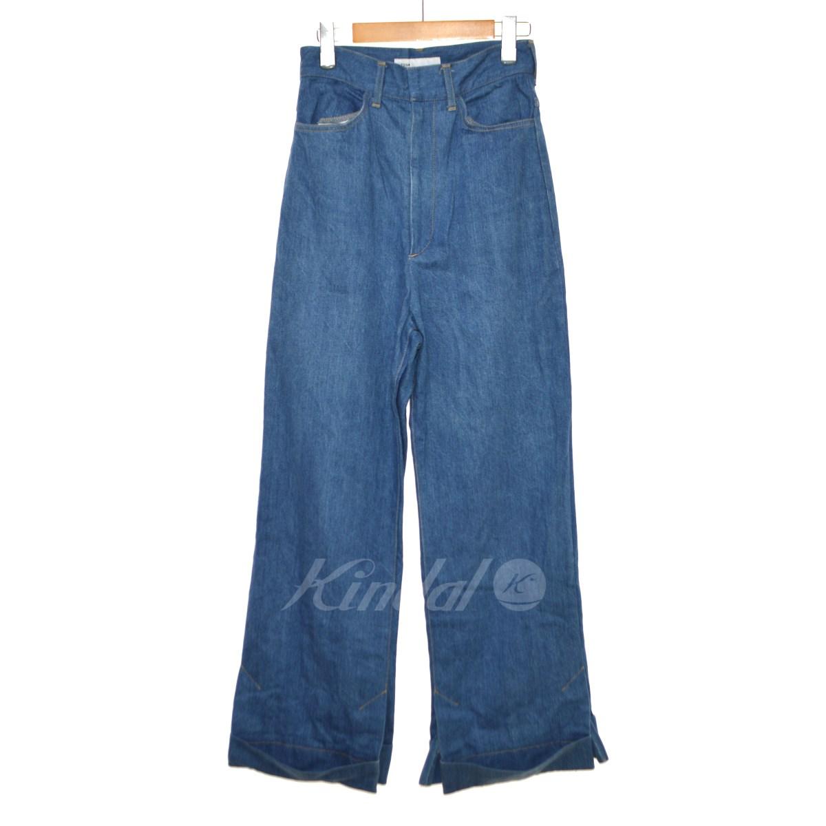 【中古】TOGA 18SS Denim Pants ワイドデニムパンツ 【送料無料】 【113892】 【KIND1550】