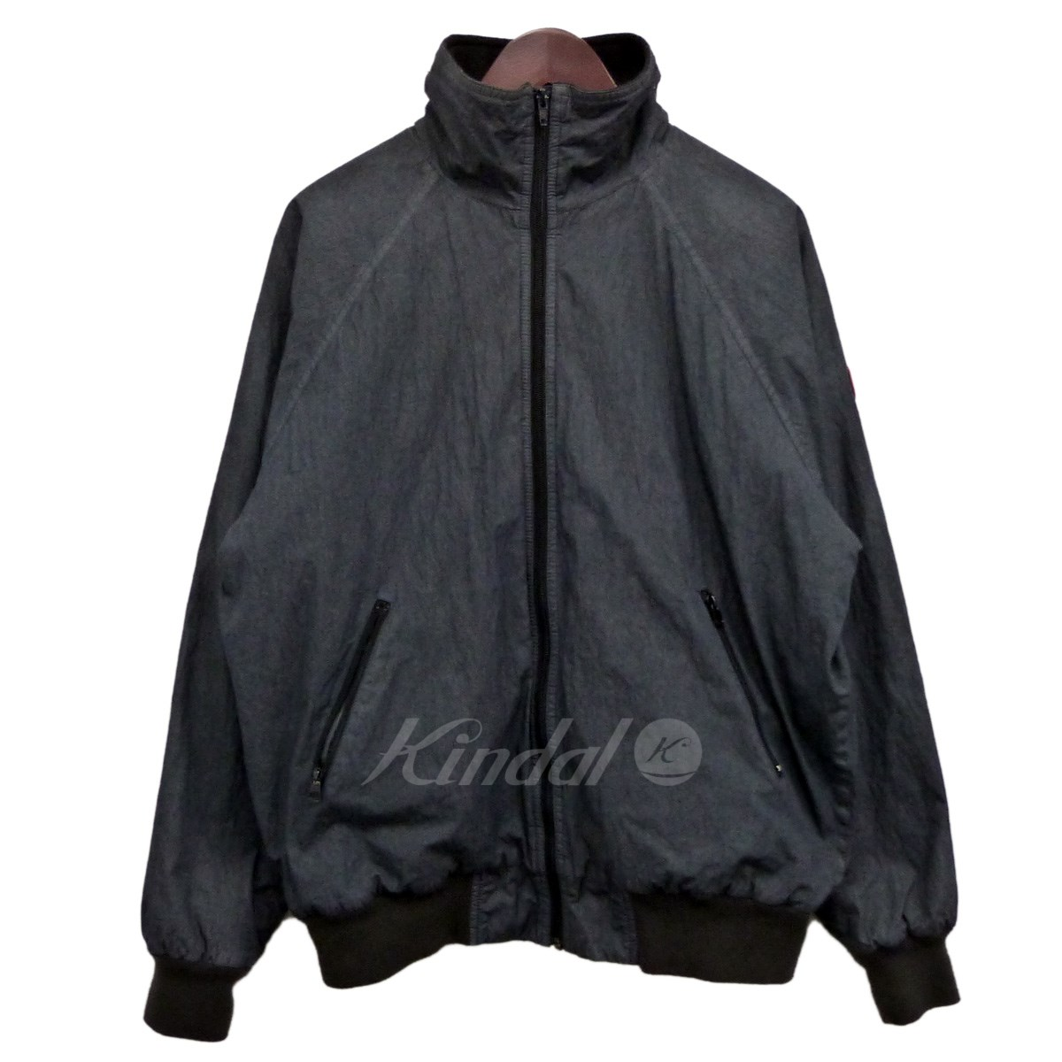 【中古】C.E 「C/N FLEECE JACKET」裏フリースジャケット チャコールグレー サイズ:S 【送料無料】 【051018】(シーイー)