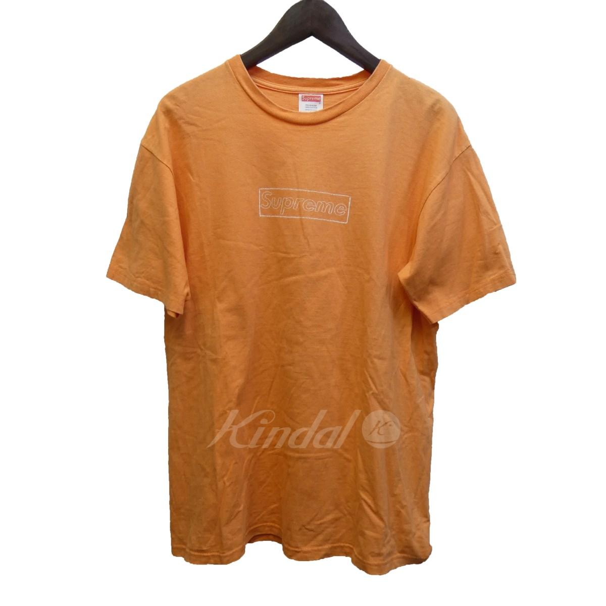 【中古】SUPREME × KAWS 11SS「Box Logo Tee」BoxLogoTシャツ 【送料無料】 【100772】 【KIND1550】
