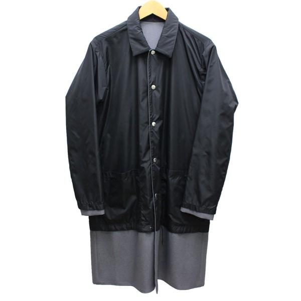 【中古】HURRAY HURRAY リバーシブルコート ブラック×グレー サイズ:1 【送料無料】 【051018】(フレイフレイ)