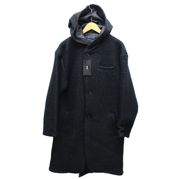 【中古】glamb monotone Balloon Coat フードコート 【送料無料】 【000721】 【KIND1550】