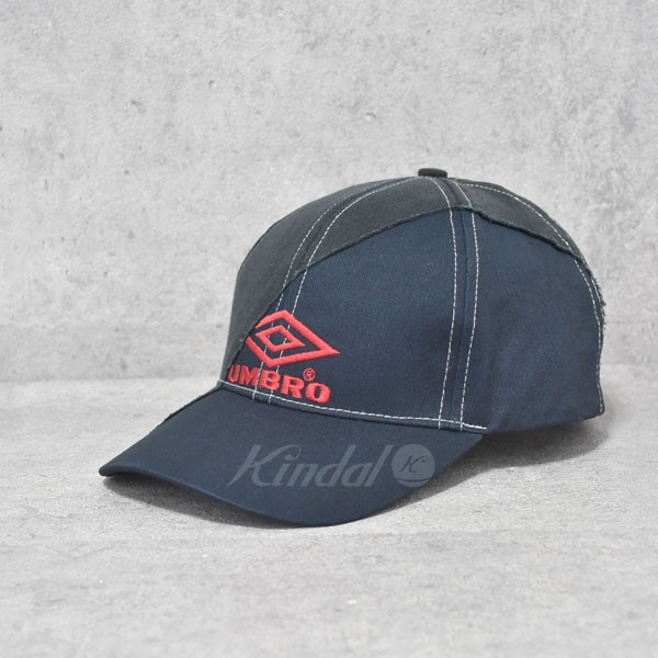 【中古】VETEMENTS 18SS ×UMBRO Cut-Up Cap キャップ 【送料無料】 【237867】 【KIND1550】