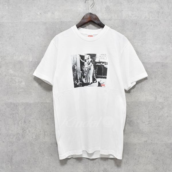 【中古】SUPREME 18AW Hiding From Indians Tee プリントTシャツ 【送料無料】 【239816】 【KIND1550】