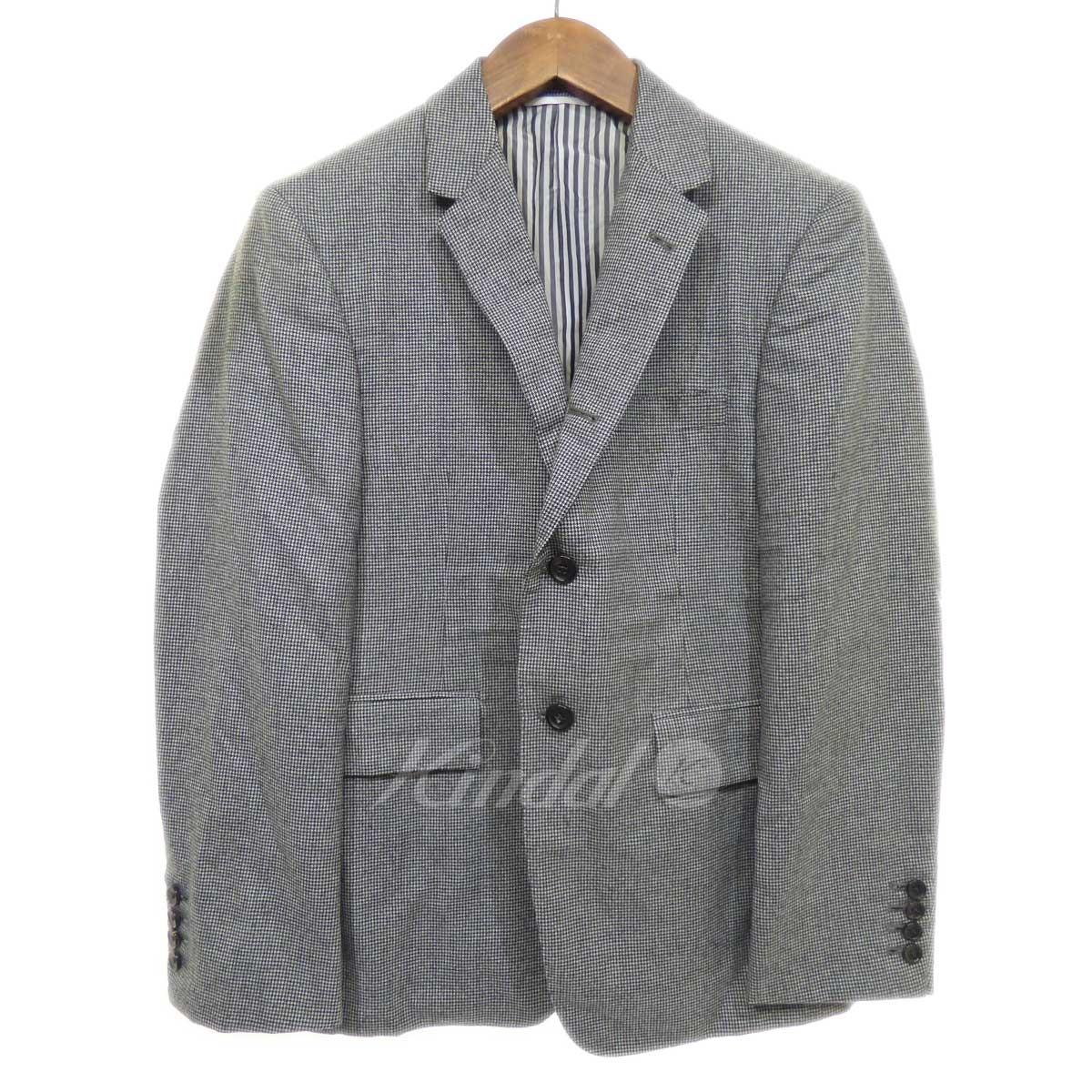 【中古】THOM BROWNE セットアップスーツ ブラック×ホワイト サイズ:1 【送料無料】 【061018】(トム・ブラウン)