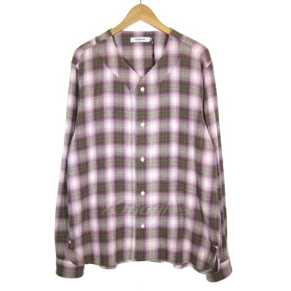 【中古】nonnative 2018S/S HANDYMAN SHIRT COTTON TWILL チェックシャツ ピンク×グレー サイズ:3 【送料無料】 【061018】(ノンネイティブ)
