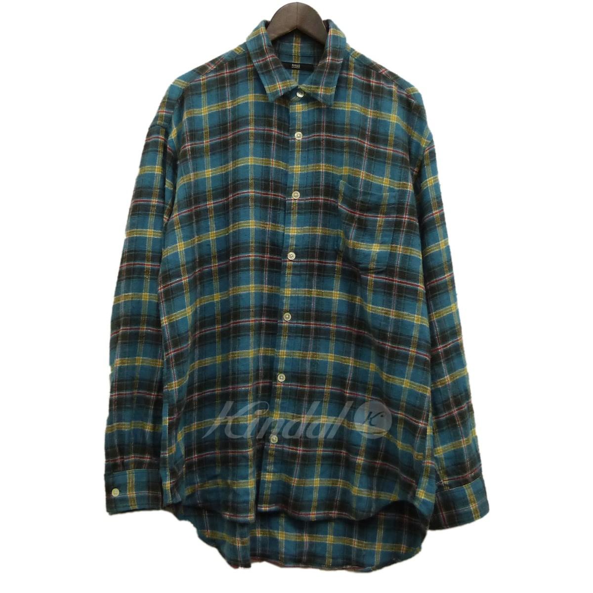 【中古】Rags McGREGOR チェックシャツ ブルー×イエロー サイズ:M 【送料無料】 【061018】(ラグスマクレガー)